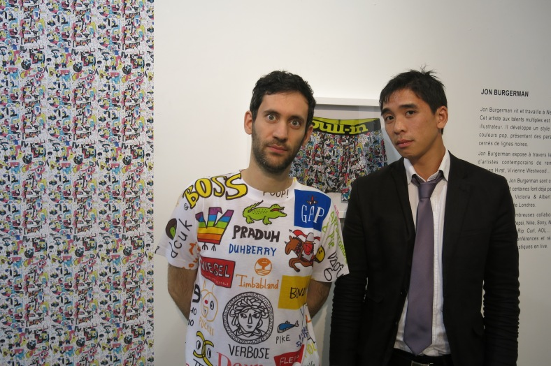 Pull In x Jon Burgerman (et son bodyguard)